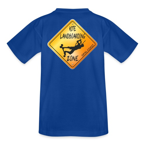 KITE LANDBOARDING ZONE OPAL COAST - T-shirt Ado