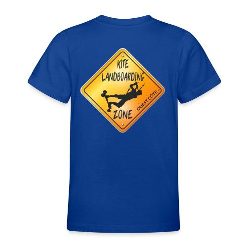 KITE LANDBOARDING ZONE OUEST CÔTE - T-shirt Ado