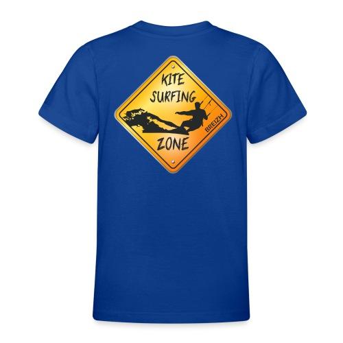 KITESURFING ZONE BREIZH - T-shirt Ado