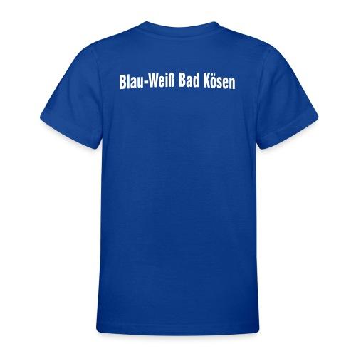 vereinsnamehalbrund - Teenager T-Shirt