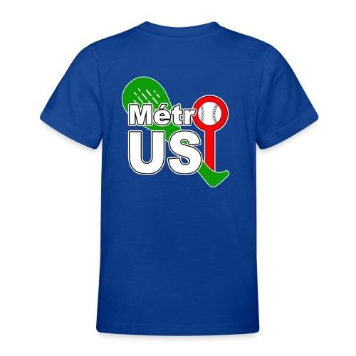USMTTrophée3couleursV2A png - T-shirt Ado