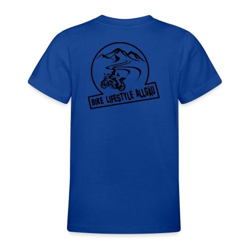 Logo - Schwarz - Teenager T-Shirt