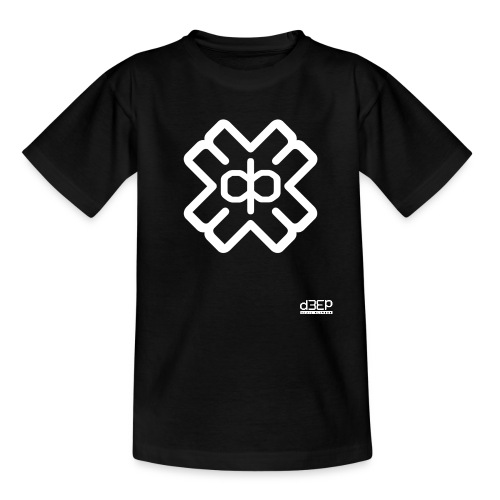d3eplogowhite - Teenage T-Shirt