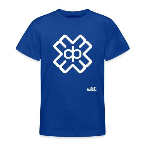 d3eplogowhite - Teenage T-Shirt