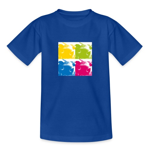 4 Kühe - Teenager T-Shirt