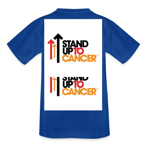 stand up to cancer logo large jpg - Teenage T-Shirt