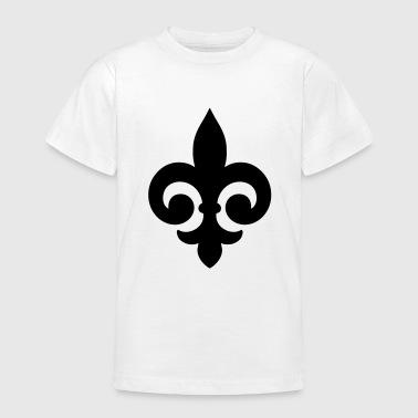 fleur de lis fleur-de-lis - Koszulka młodzieżowa