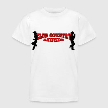 club country music - Camiseta adolescente