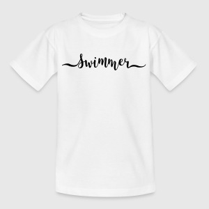 Schwimmer - Teenager T-Shirt