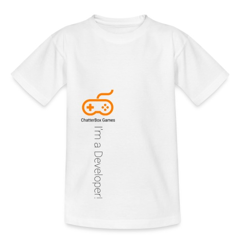 I'm a Developer! - Teenage T-shirt