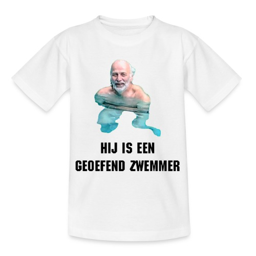 Geoefend Zwemmer - Teenager T-shirt