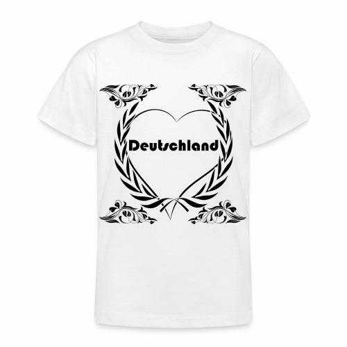 Ich liebe Deutschland - Teenager T-Shirt