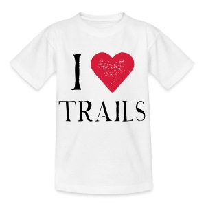 I HEART TRAILS - Teenager T-Shirt
