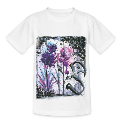 Crazy Flowers - Teenager T-Shirt
