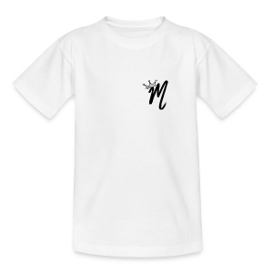 ItzManzey (OFFICIAL WHITE TOPS AND HOODIES) - Teenage T-shirt