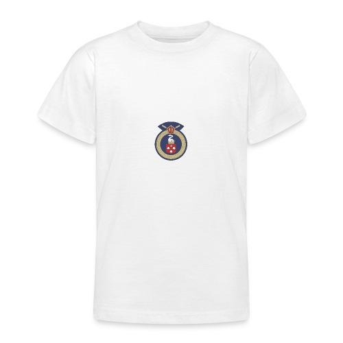 13 Eastleigh Badge White - Teenage T-Shirt