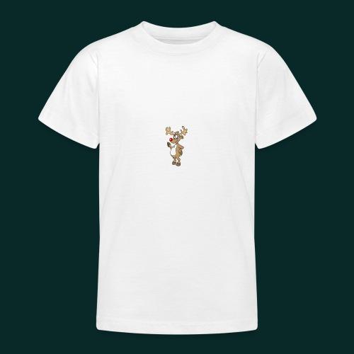 Baby-Lätzchen-Rentier-weihnachten - Teenager T-Shirt