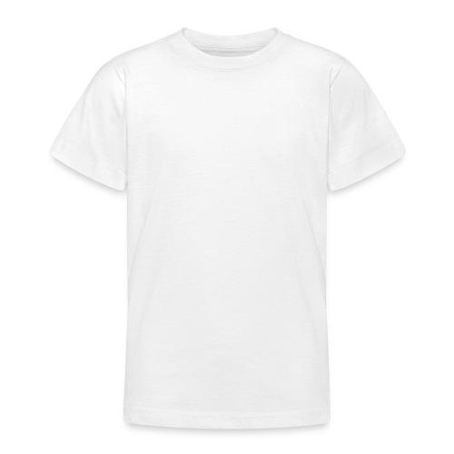 Vit - T-shirt tonåring