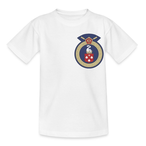 13 Eastleigh Badge White - Teenage T-shirt