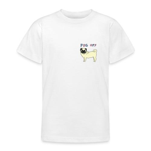 original pug shirt - Teenage T-shirt
