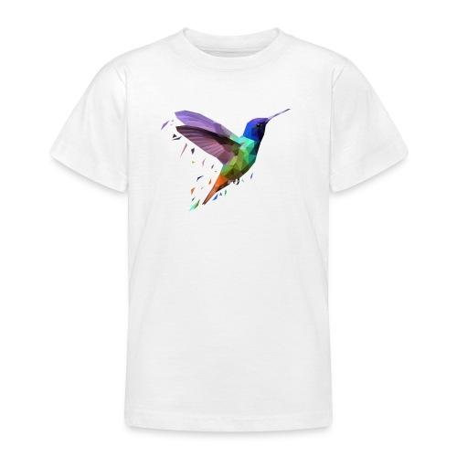 Polybird Pixels - T-skjorte for tenåringer