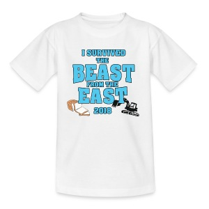 Beast from the East Survivor - Teenage T-shirt