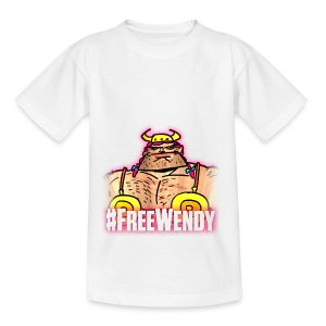 #FreeWendy - Teenage T-shirt