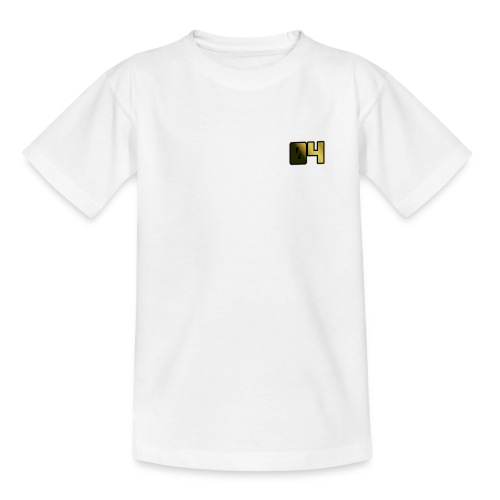 OllyTV 04 Logo design - Teenage T-shirt