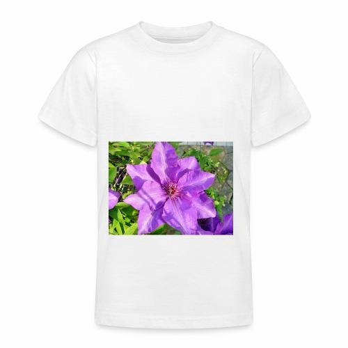 Die klematis - Teenager T-Shirt