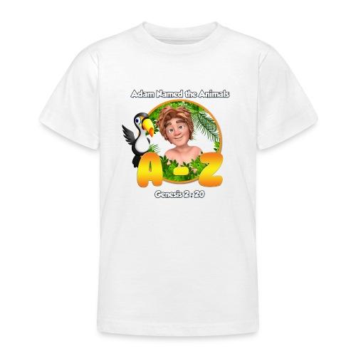 Adam Named the Animals Logo - Teenage T-shirt