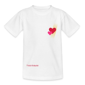 Teddy.Kidswear. – Hearts - Teenager T-Shirt
