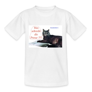 Gourmetkater Presse - Teenager T-Shirt
