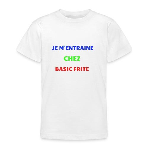 Basic Frite - T-shirt Ado