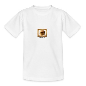 burger bun. - Teenage T-shirt