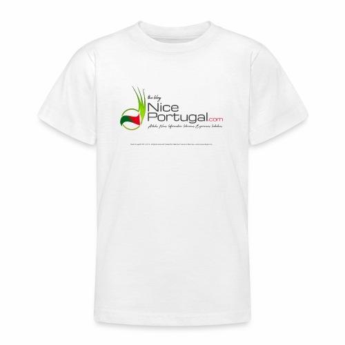 NicePortugal.com Logo - Maglietta per ragazzi