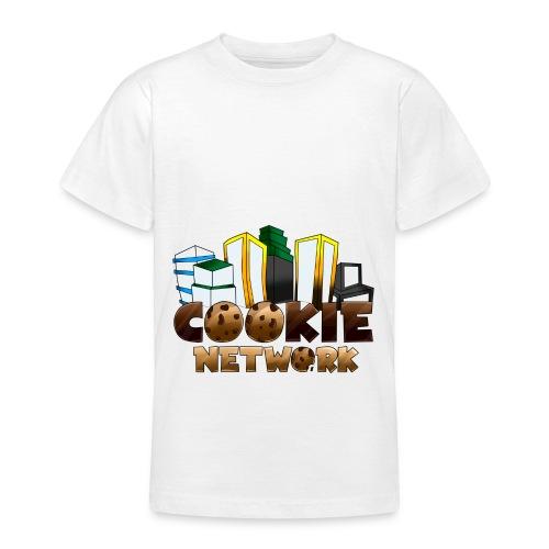 Cookienetwork logo - Teenager T-shirt