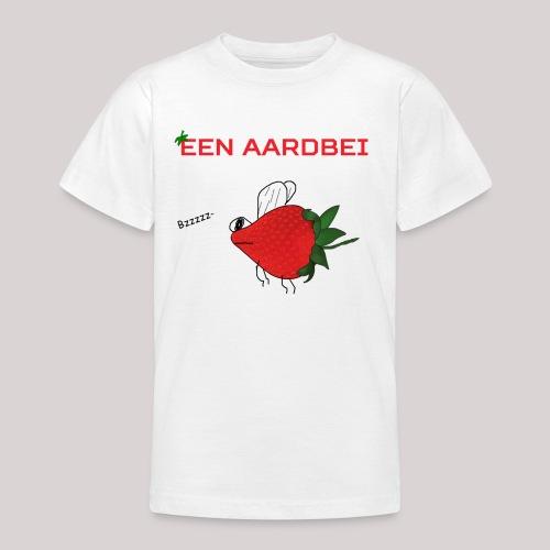 Een aardbei - Teenager T-shirt