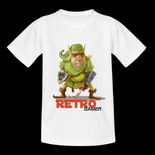 Retro-Gamer - T-shirt Ado