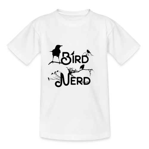 Bird Nerd - Teenager T-Shirt