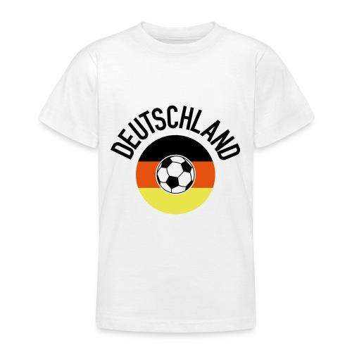 Deutschland01WM2018 - Teenager T-Shirt