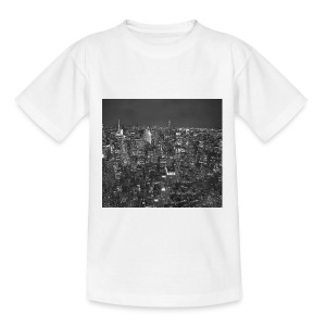 Manhattan at night - Teenager-T-shirt