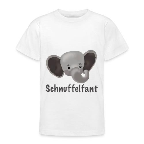 Motiv Schnuffelfant - Teenager T-Shirt
