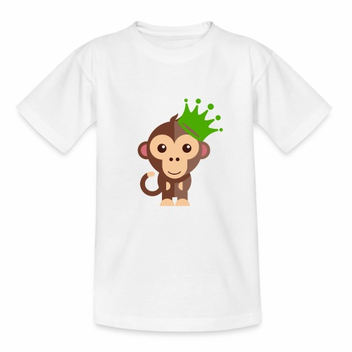 Kleins Äffchen - Teenager T-Shirt