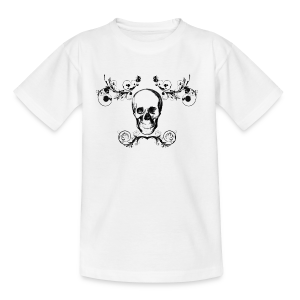 Arabesque Skull - T-shirt Ado