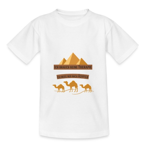 egypt Therapie - Teenager T-Shirt