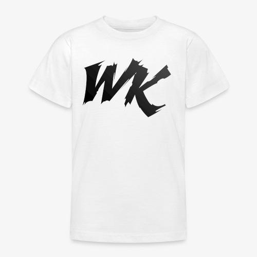 WK black - Teenage T-shirt