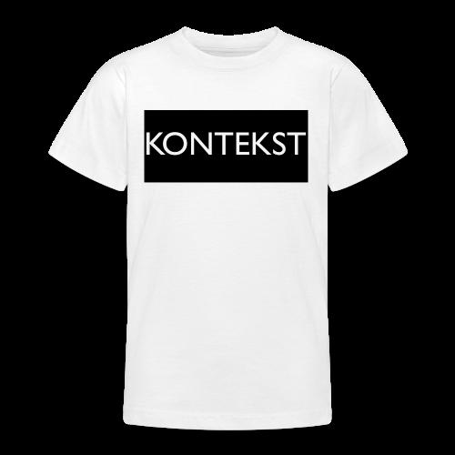 Kontekst Collection - T-skjorte for tenåringer