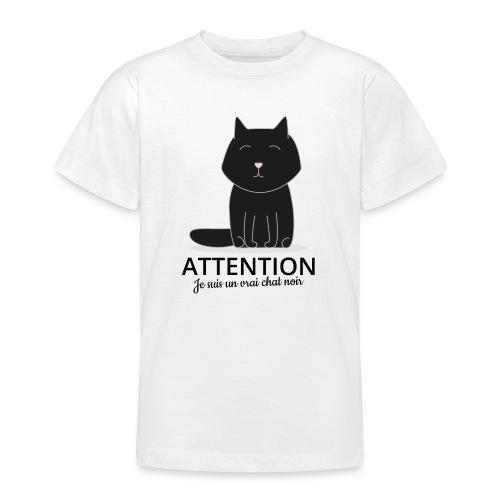 Chat noir - T-shirt Ado