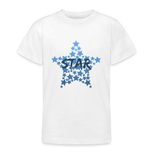 Blue star - Teenage T-shirt