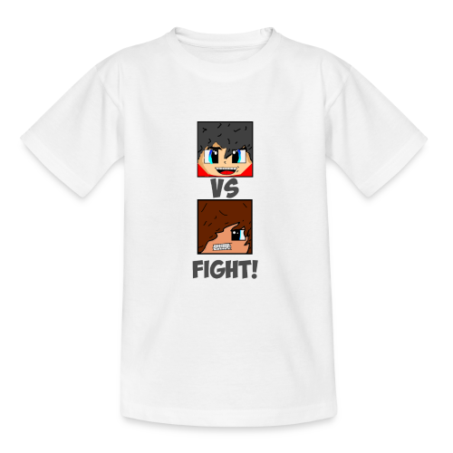 The Pixel FIGHT! - Teenage T-shirt